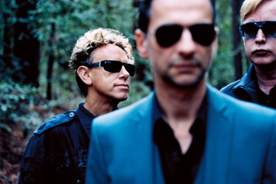 Depeche Mode 2008 in Nordkalifornien.