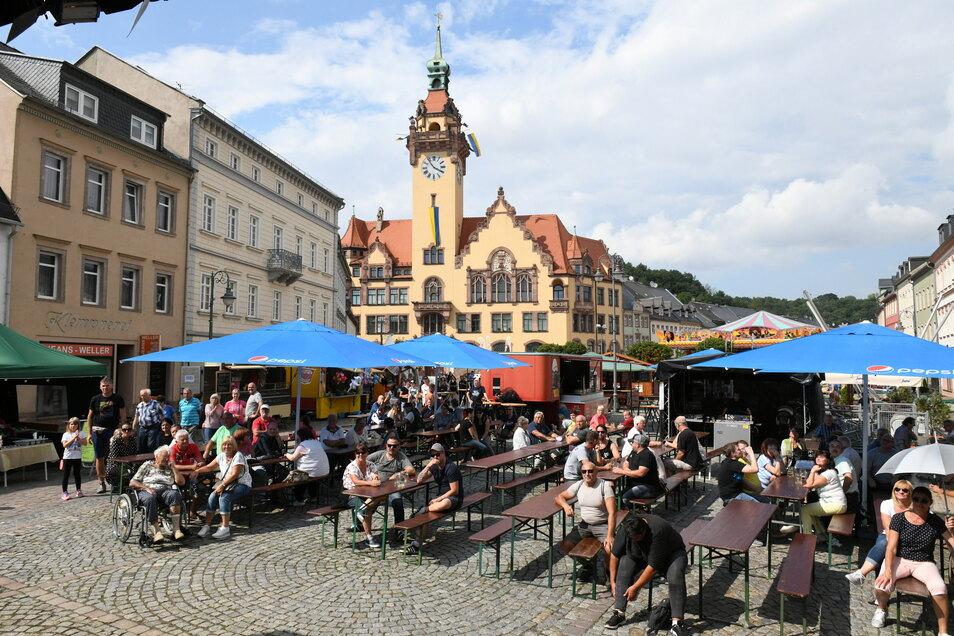 Große Feste mit Tausenden Besuchern sind derzeit nicht möglich. Das Heimatfest zum 825-jährigen Bestehen wollen die Waldheimer aber richtig feiern.