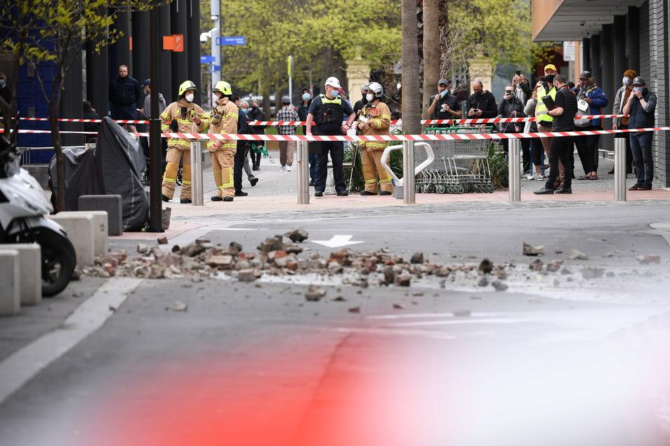 In Australien wurde ein Erdbeben gemeldet, dessen Erschütterungen in ganz Melbourne und bis nach Canberra und Sydney zu spüren waren.