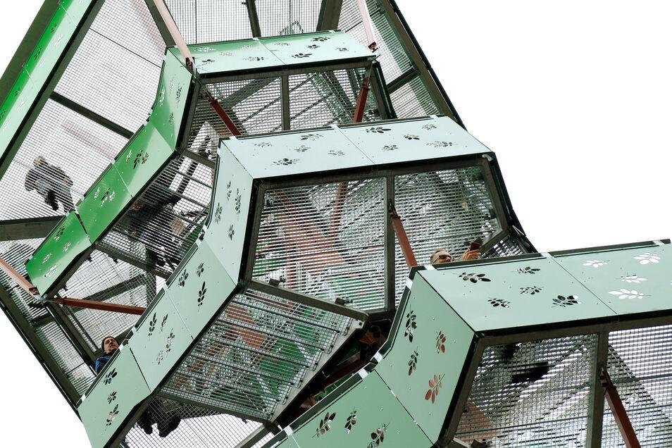 Der neue Rodigtturm in Nossen ist offen.