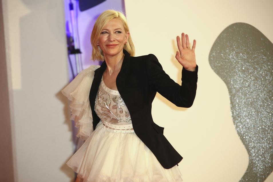 Von Dresden beeindruckt: Cate Blanchett