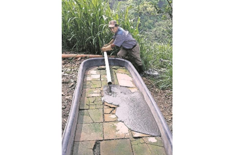 In Guatemala wird in einem Projekt der Abwasserschlamm getrocknet, um ihn dann zu entsorgen oder weiterzuverarbeiten.