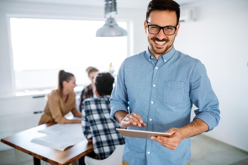 Digital Marketing Manager steuern unter anderem Digital- und Social-Media Kampagnen für Kunden.