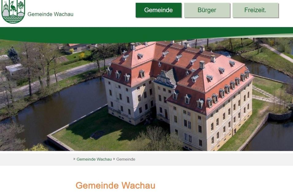 Die Gemeinde Wachau hat einen neuen Internet-Auftritt.
