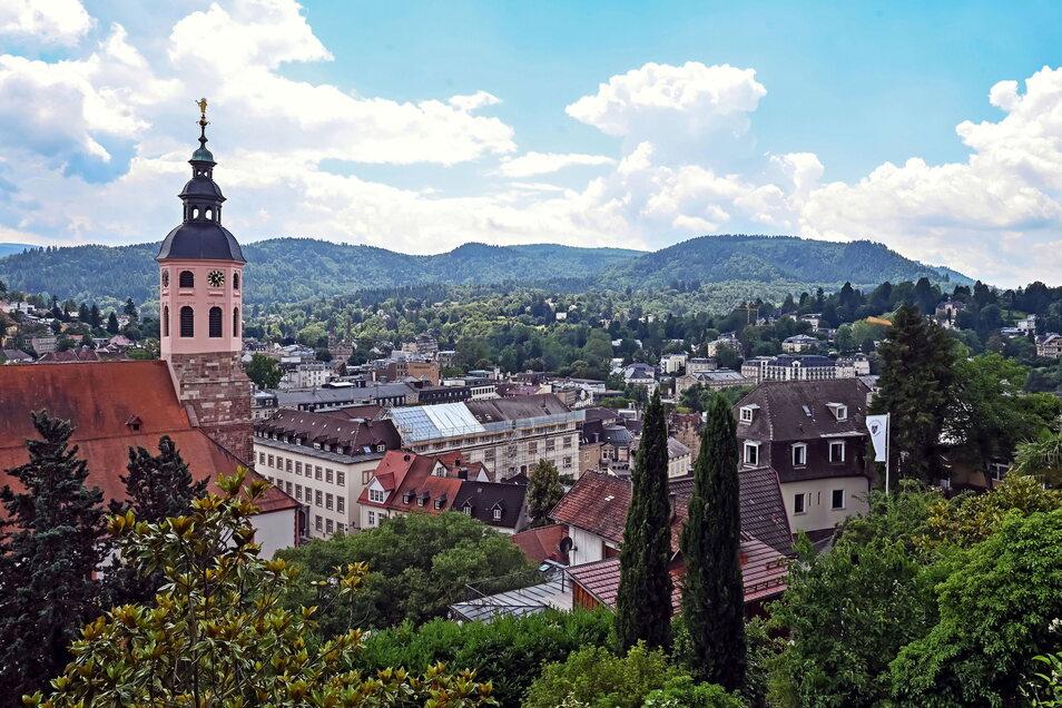Blick auf die Innenstadt von Baden-Baden: Der Kurort ist einer von dreien in Deutschland, die jetzt den begehrten Welterbetitel bekamen.