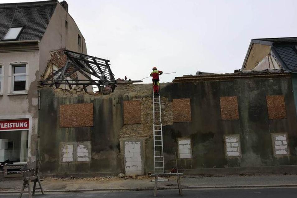 So sah die Ruine an der Nordstraße aus, die in den letzten Jahren immer wieder für Aufregung sorgte.