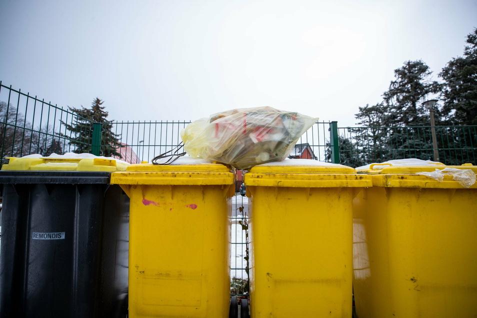 Was tun, wenn die Entsorgungsfahrzeuge nicht gekommen sind, um die Gelben Tonnen zu entleeren? Der Entsorger gibt Tipps.