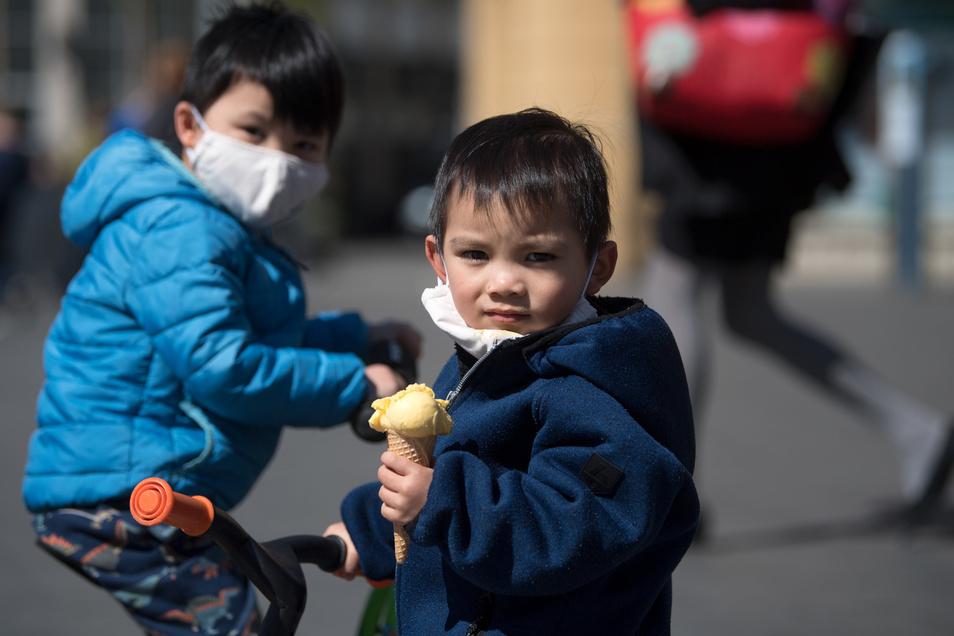 In Bayern soll die Maskenpflicht auch für Kinder ab 7 Jahren gelten.