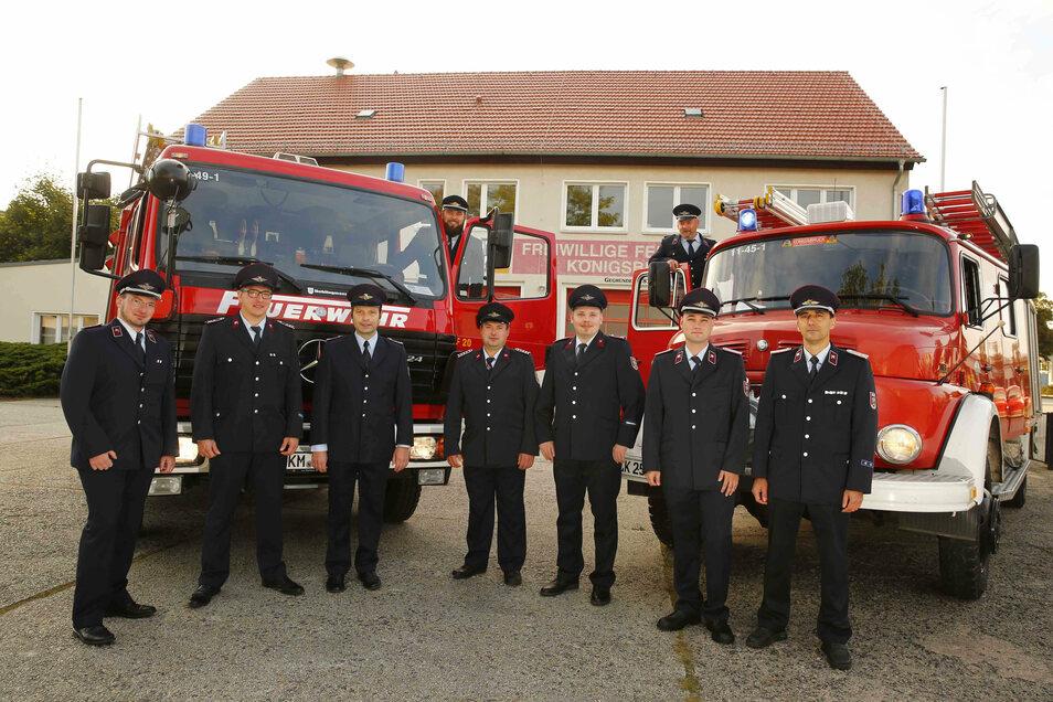 Die Kameraden der Freiwilligen Feuerwehr Königsbrück freuen sich. Sie sollen ein neues Fahrzeug und auch ein modernes Gerätehaus bekommen.