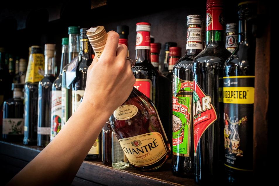 Immer noch gibt es die meisten Beratungen zum Thema Alkohol.