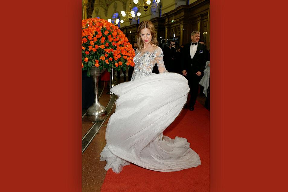 2020 war die Prinzessin zu Gast beim Dresdner Semperopernball.