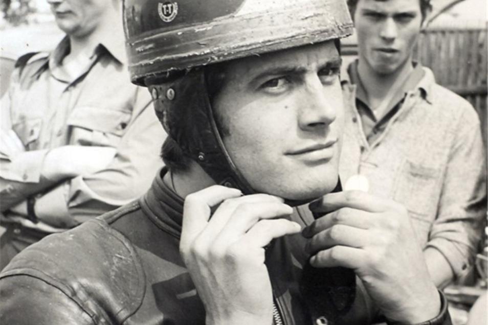 Historie: Giacomo Agostini 1968 am Sachsenring.