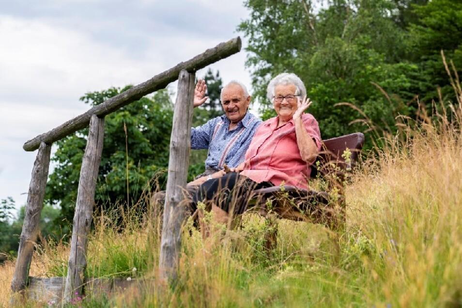 Margit und Rudi Flammiger sind seit 70 Jahren verheiratet.