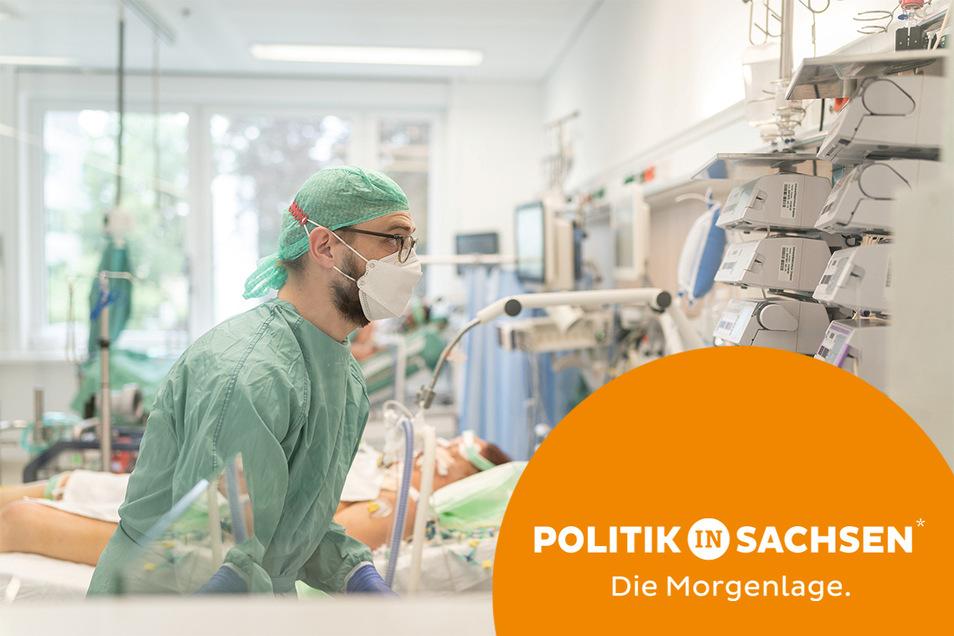 In der Corona-Zeit war die Lage in Sachsens Krankenhäusern teilweise kritisch. Eine neue Studie zeigt: Das lag auch an der Zunahme von Keiminfektionen im Krankenhaus.