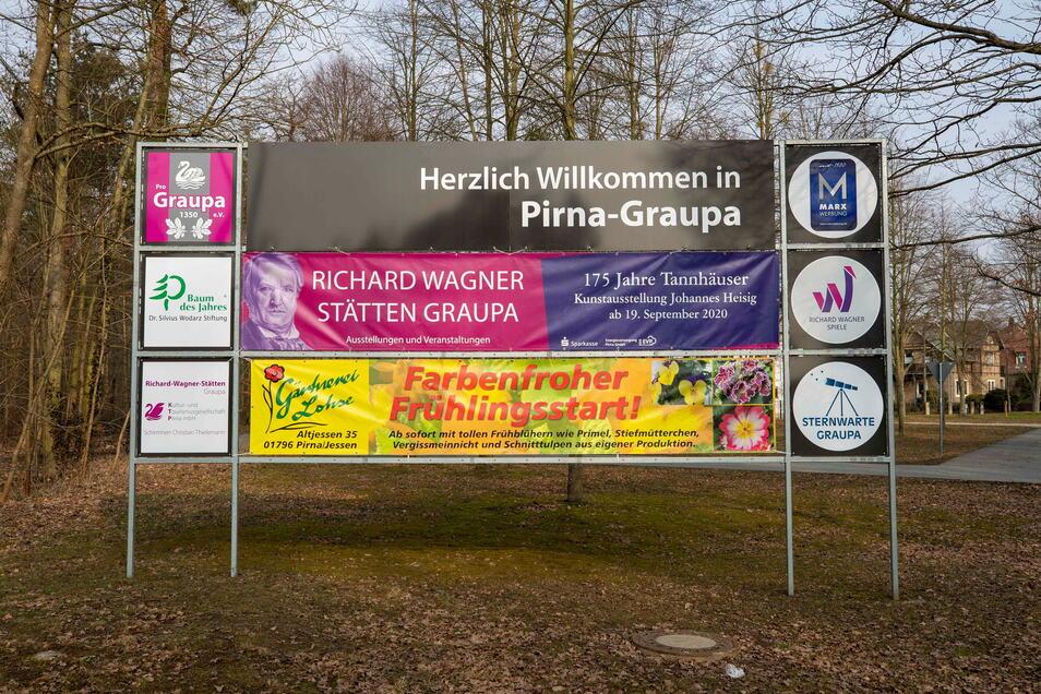 An der Kastanienallee/Lindenstraße in Graupa wurde jetzt ein neues Informationsschild aufgestellt. So ganz korrekt ist es allerdings nicht.