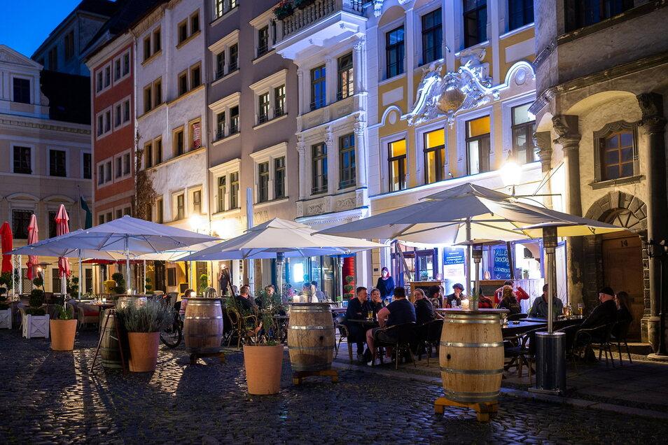 Seit die Gaststätten wenigstens ihre Außensitze wieder bewirtschaften können, herrscht gleich eine ganz andere Atmosphäre im Kreis Görlitz.