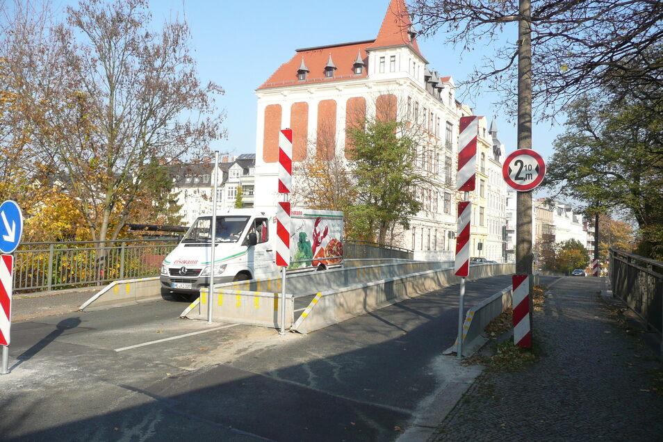 Die marode Blockhausbrücke in Görlitz soll dieses Jahr abgerissen und anschließend neu aufgebaut werden.