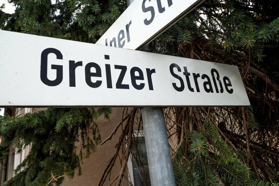 Für die Greizer Straße in Riesa-Weida gibt es eine Umbenennungsidee. Die ist momentan aufgeschoben, aber nicht aufgehoben.