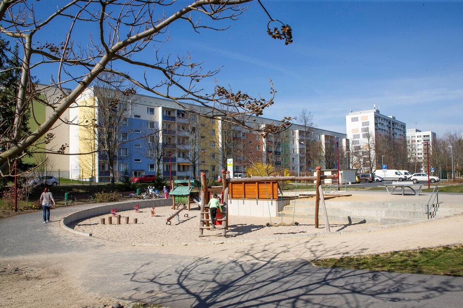 Beliebt aber dennoch immer wieder Opfer von Vandalismus: der Mehrgenerationenpark in Freital Zauckerode.