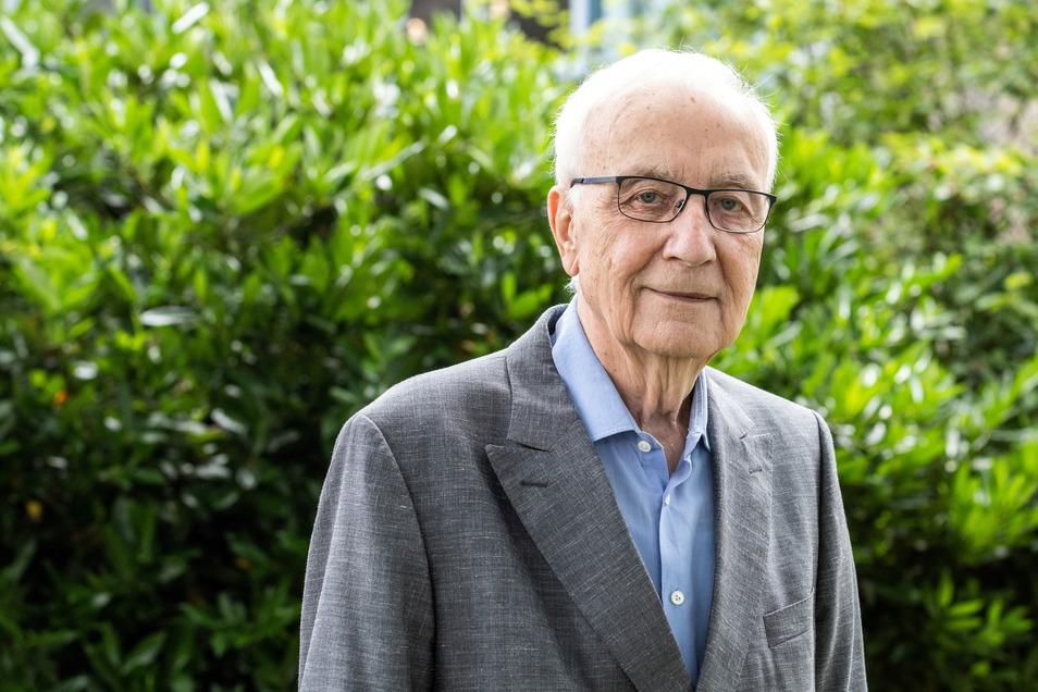 """""""Nichts ist unmöglich. Auch nicht das Gute."""" Fritz Pleitgen, 83, zieht Bilanz."""