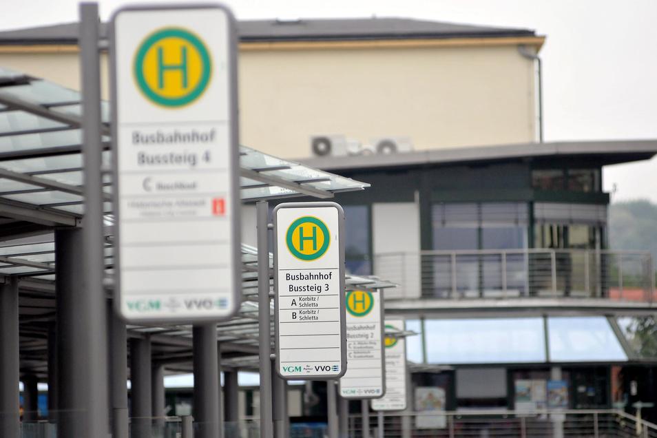 Auch vom Meißner Bahnhof aus sind ab dem 4. Mai wieder mehr Bahnen unterwegs.