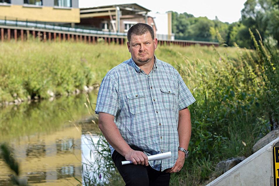 Bisher war Sebastian Fritze Betriebsleiter der Landestalsperrenverwaltung in Bautzen. Jetzt führt er das Landesamt für Bergbau, Geologie und Rohstoffe in Cottbus.