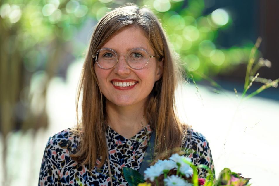 Franziska Klee ist Preisträgerin des ersten Nachhaltigkeitspreises für sächsische Gründerinnen, gestiftet von AOK PLus Sachsen. Foto: kairospress