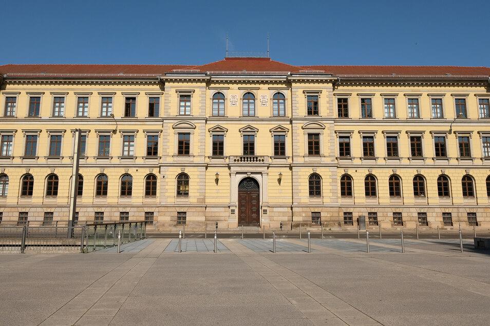 Das Gebäude, in demder sächsische Verfassungsgerichtshof in Leipzig seinen Sitz hat.