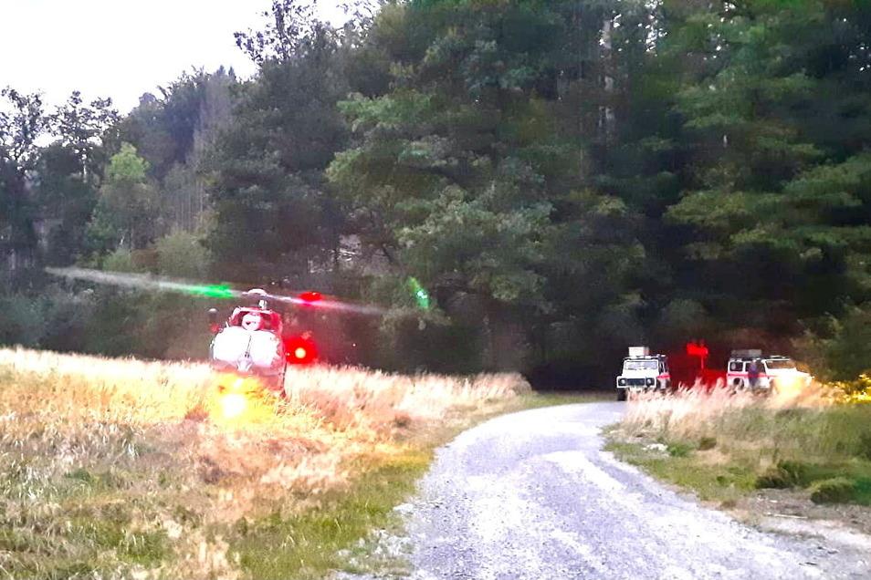 Zwei Frauen rettete die Bergwacht am Mittwoch in der Sächsischen Schweiz.
