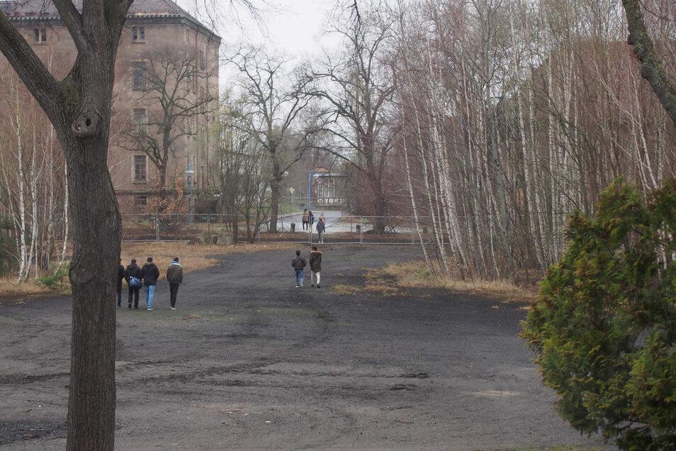 Werden auf dem ehemaligen Exerzierplatz im Zittauer Armeegelände eines Tages Einfamilienhäuser gebaut?