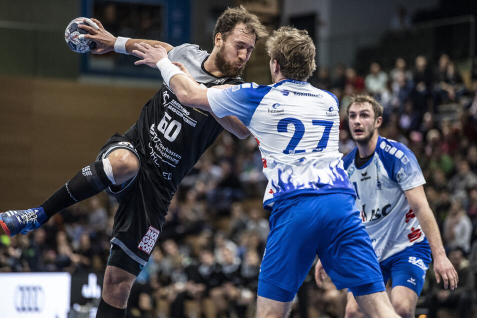 Marc Pechstein (links) kann den Ausfall von Nils Kretschmer in der Offensive kompensieren.