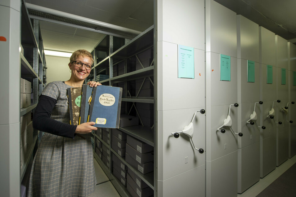 Maren Gündel vom Stadtarchiv hat Namensverzeichnisse für die Familienforschung online zugänglich gemacht.