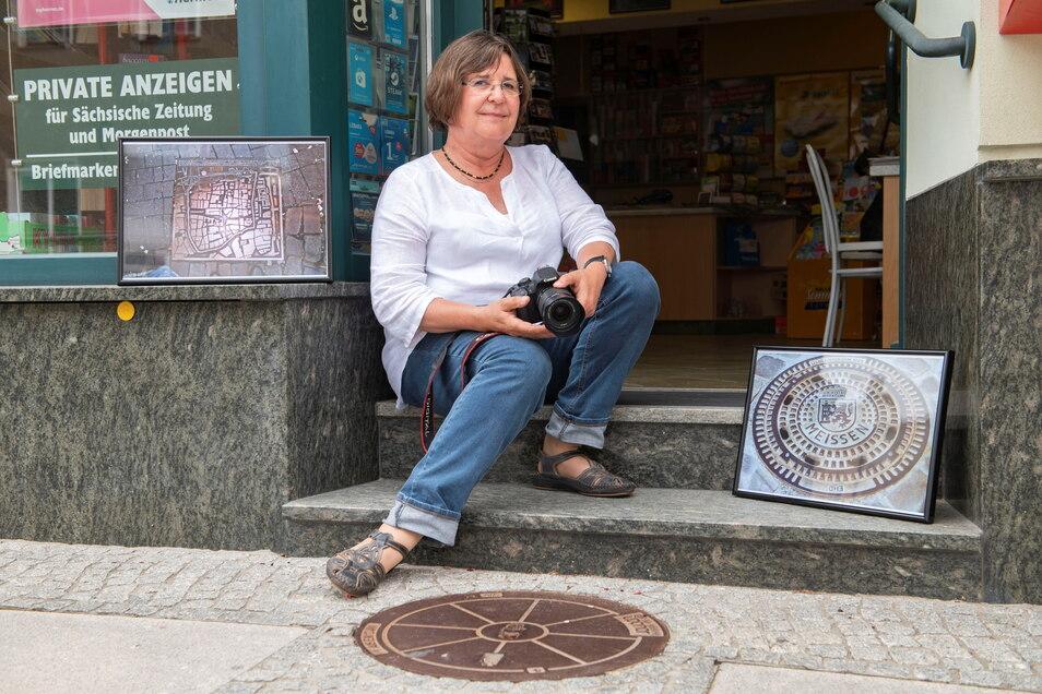 Jutta Wosnitza stellt ihre Fotos derzeit im Lotto- und Presseshop Riedel in Großenhain aus. Eine Freundin brachte sie zu dieser Adresse.