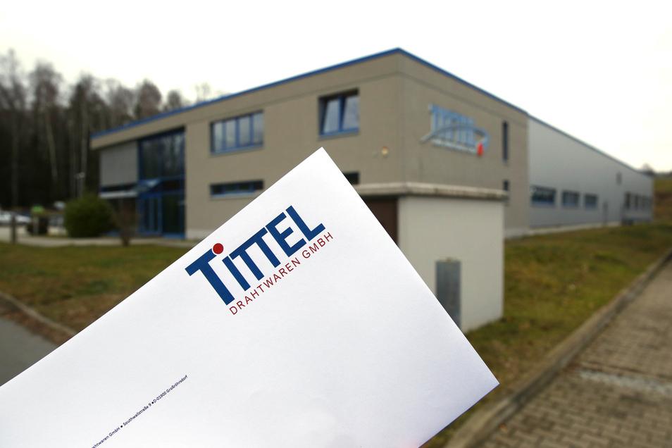 Für den Neustart der Metallfirma Tittel in Großröhrsdorf steht auch eine kleine Veränderung im Namen. Auf dem Kuvert ist sie schon sichtbar. Der Zusatz Fabrik ist nicht mehr vorhanden.