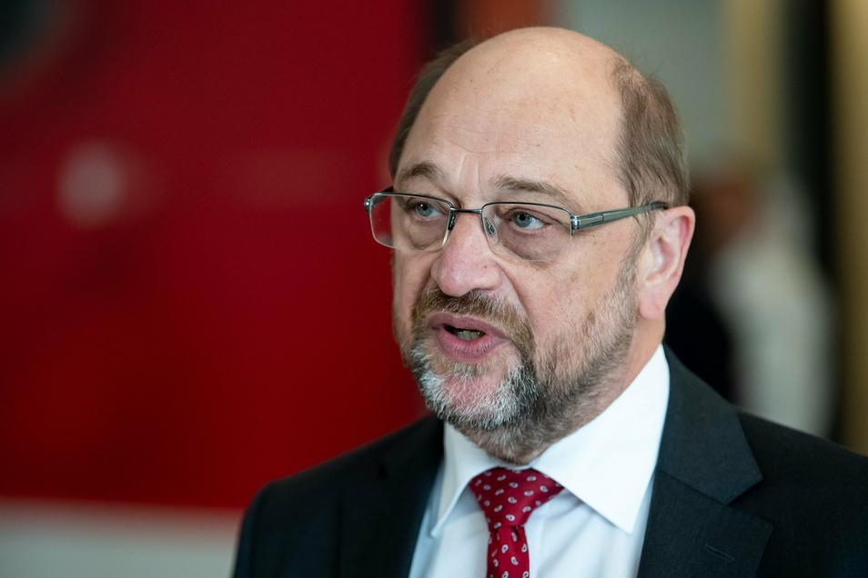 Martin Schulz ist derzeit Bundestagsabgeordneter. Bei der Wahl 2017 trat er als Kanzlerkandidat der SPD an.