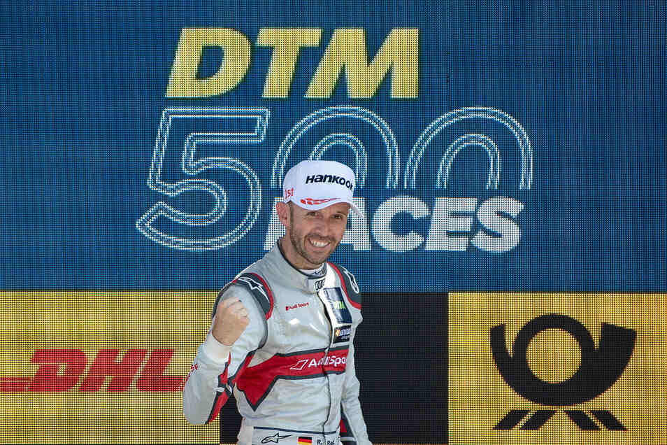 Am 25. August 2019 feierte die DTM ihr 500. Rennen und Rene Rast seinen Erfolg auf dem Lausitzring.