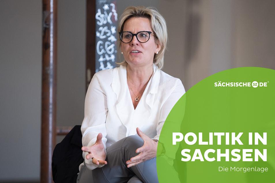 Kulturministerin Barbara Klepsch