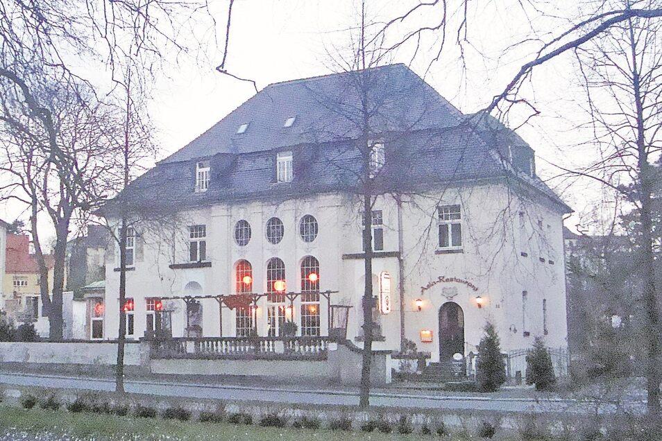Die Villa Schneider am Stadtring in Zittau.