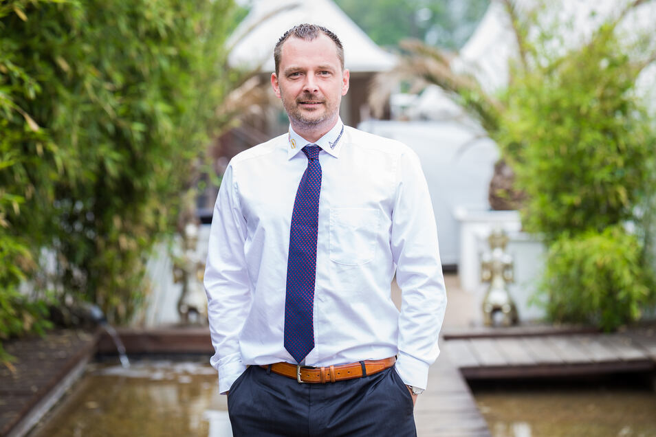 Christian Schleicher, Geschäftsführer der Autohaus Dresden GmbH