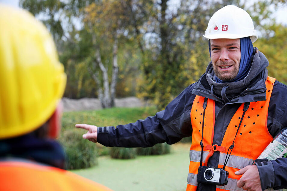 Lukas Lorenz übernimmt die ökologische Baubegleitung für die Ontras.
