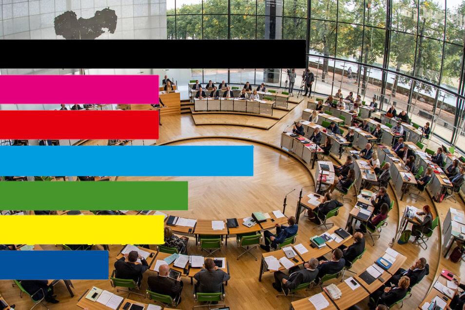 Wie schneiden die Parteien bei der Wahl ab? Auf Sächsische.de gibt es einen Ergebnisdienst.