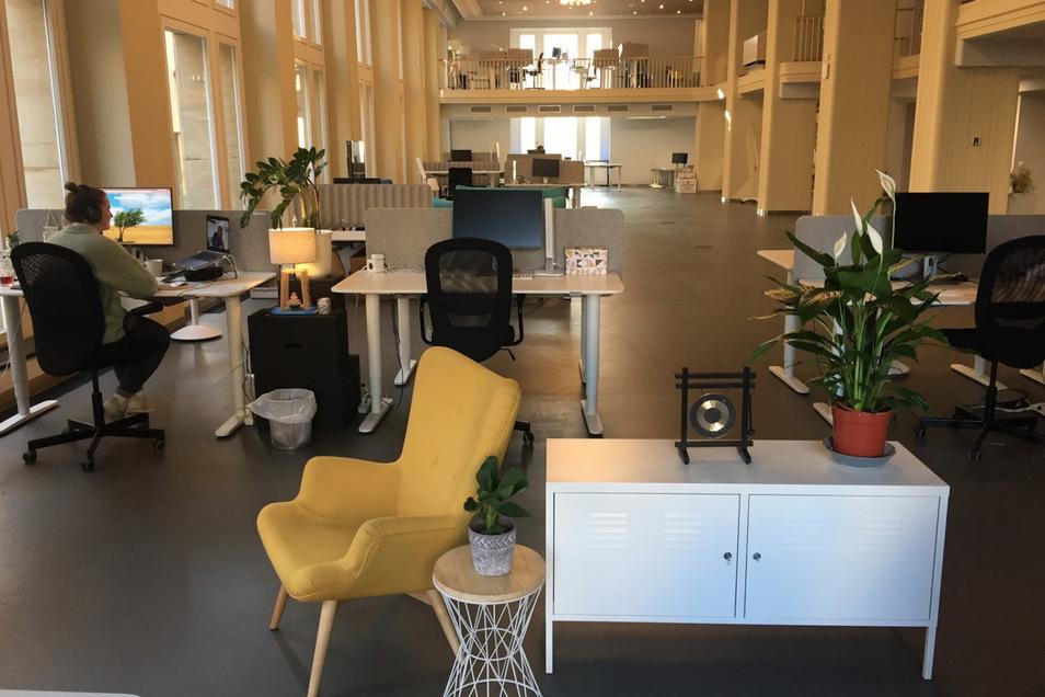 Blick in die neuen Büroräume von Staffbase.