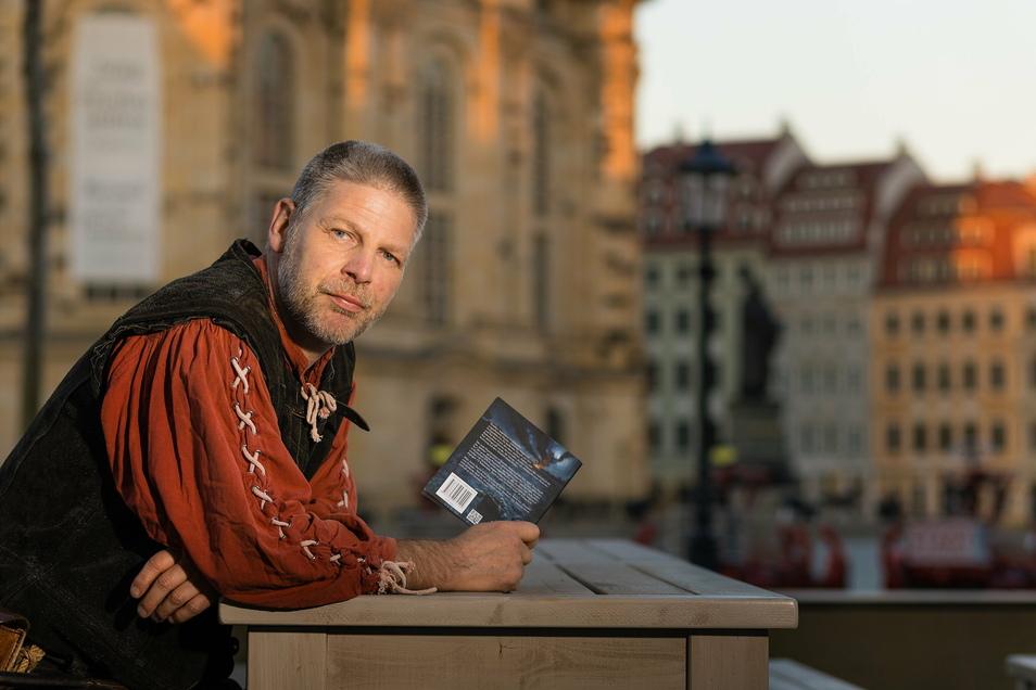 Am meisten gruselt sich Autor und Stadtführer Mario Sempf derzeit vor seinen eigenen beruflichen Perspektiven.