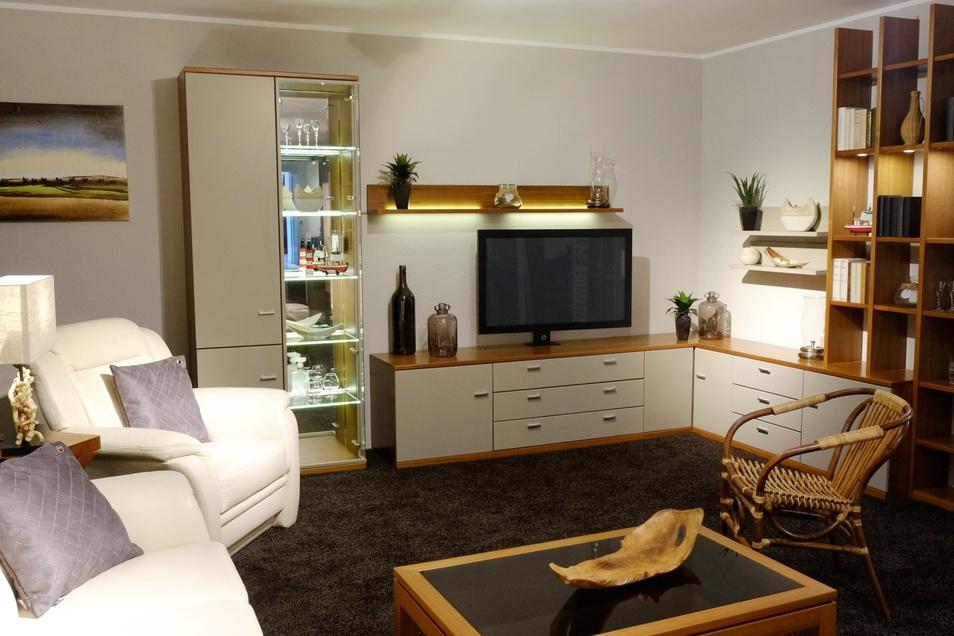Auf knapp 10 000 Quadratmetern präsentiert Möbel Hülsbusch neueste Wohntrends und traditionelle Klassiker.