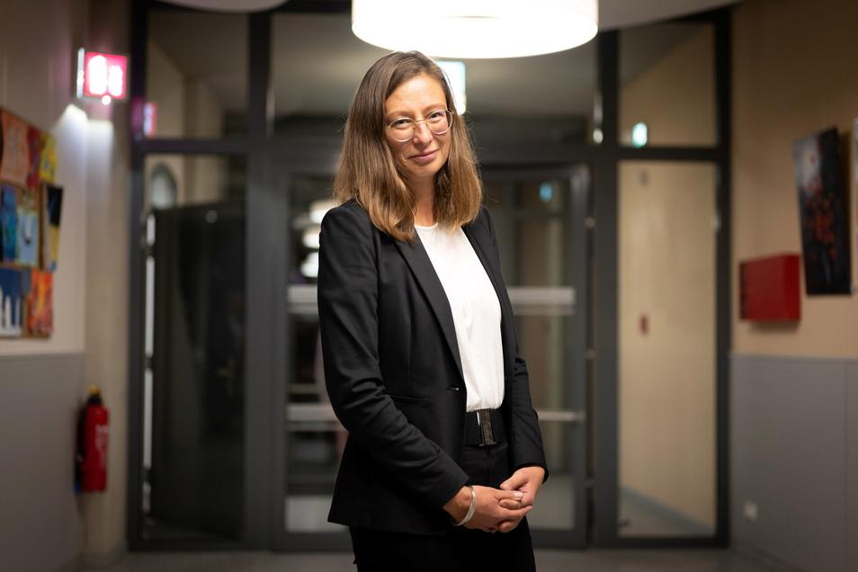 Katja Mulansky will neue Bürgermeisterin von Radeberg werden. Derzeit ist sie in der Finanzverwaltung des Freistaates tätig.