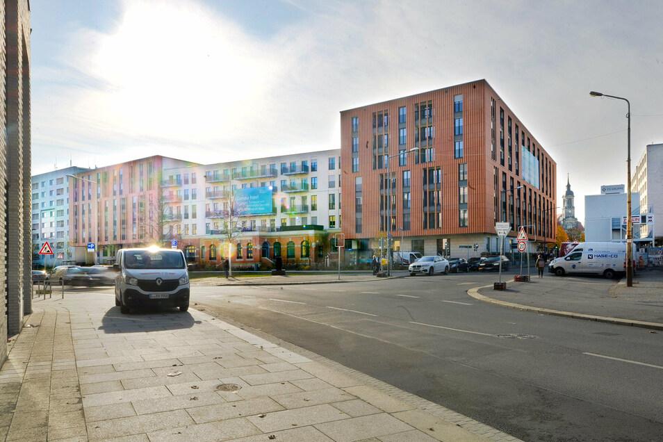 Auch in der ehemaligen Oberpostdirektion am Postplatz sind neue Wohnungen entstanden.