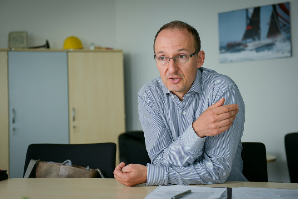 Dresdens Chef für Wirtschaftsförderung Robert Franke sieht nachhaltige Schäden durch Corona für Dresdens Unternehmen und Arbeitsplätze.