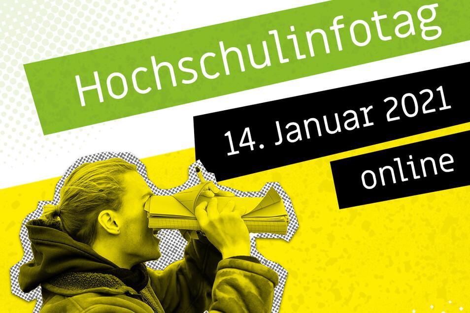 Beim Informationstag stellt sich die Hochschule Zittau/Görlitz am 14. Januar künftigen Studierenden online vor.