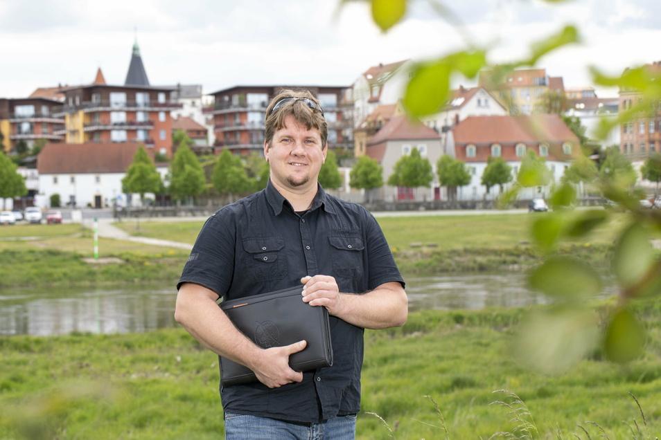 Stefan Schwager (Freie Wähler) ist gewähltes Mitglied im Stadtrat und gehört der Fraktion Gemeinsam für Riesa an.