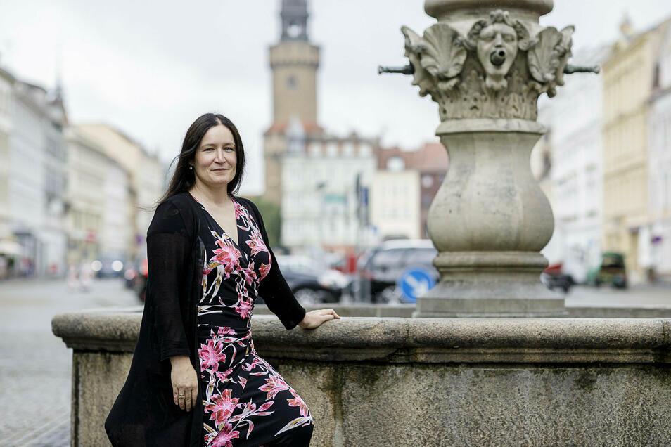 Andrea Behr ist seit Anfang 2017 Geschäftsführerin der Europastadt Görlitz/Zgorzelec GmbH (EGZ). Im Februar 2022 hört sie auf.